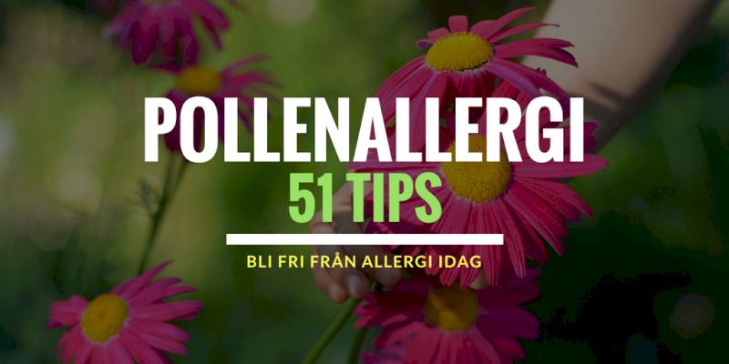 Slipp pollenallergi